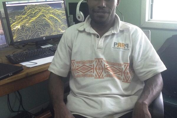 Mr. Rueben's work is part of a larger programme, the Pacific Risk Resilience Programme (PRRP), which is helping strengthen the Solomon Islands' ability to manage the risks and impacts of disasters and climate change.