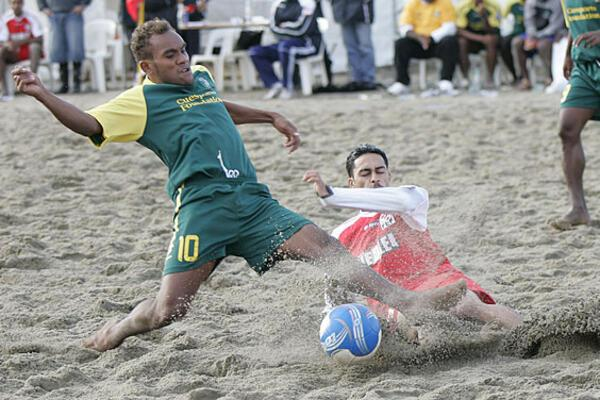 Bilikiki Seek to Defend OFC Beach Soccer Cup After Six Years
