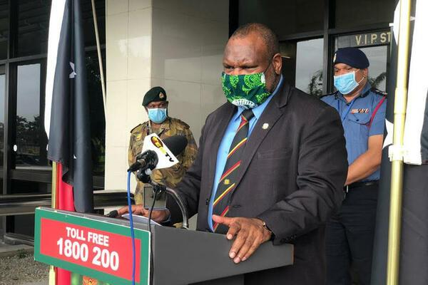 PNG's Prime Minister James Marape announced on Sunday that the capital Port Moresby will be on lockdown following confirmation of 23 more cases of the coronavirus.