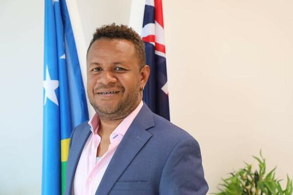 Vice-President of the Media Association of Solomon Islands (MASI) Douglas Marau.