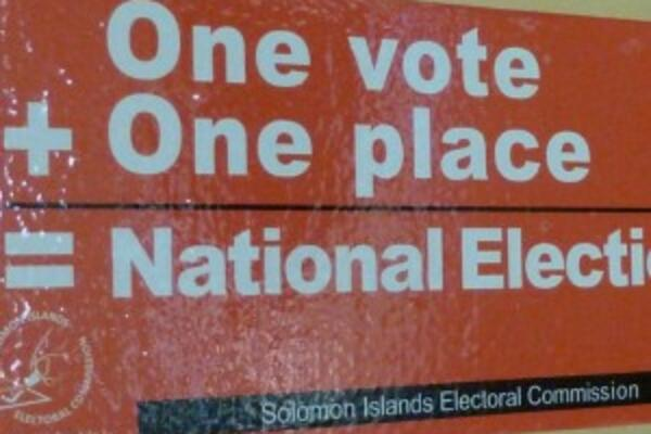"""Our team has worked tirelessly to make sure that the National General Election runs smoothly,"" Acting Chair of the Solomon Islands Electoral Commission, Mrs Emily Teitala said."