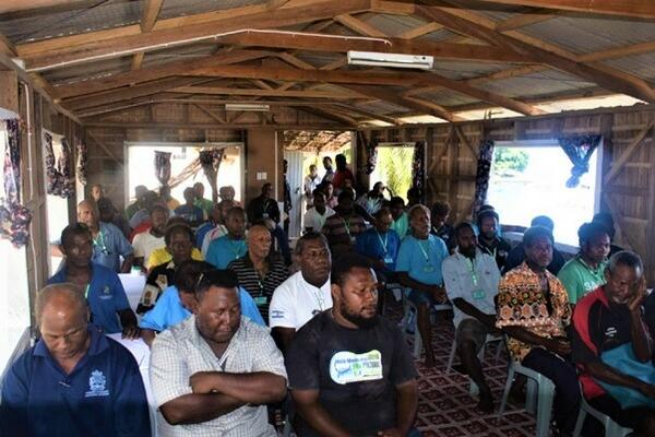 The training that was attended by 60 farmers from the different wards in South Malaita was officiated by the Member of Parliament for the constituency (SMC) Hon. Rick Houenipwela.