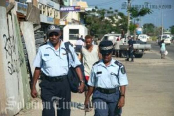 Police are clamping down on the rise in kwaso production in Honiara.