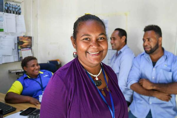 """ILO Decent Work & Employment Specialist, Mr. Kinan Albahnasi said """"A key challenge for Solomon Islands in response to the crisis is to generate more and better employment opportunities while ensuring that no one was left behind."""""""