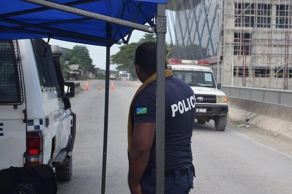 """Despite the number of suspects arrested, I wish to commend the majority of our citizens within the declared emergency zone for respecting the lockdown order and staying at home,"" said Acting Commissioner of Police Mostyn Mangau."