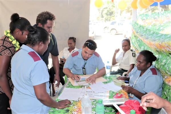 The Honiara city council vaccination team will also set up a vaccination site at the Solomon Ports Car Park Area at Point Cruz today.