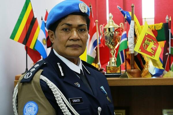 Unaisi Bolatolu-Vuniwaqa is the first female Police Commissioner to serve with the UN Mission in South Sudan.