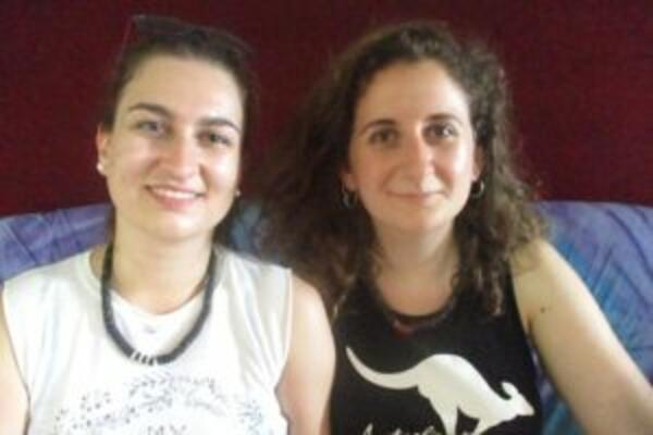 Agapi Gkouleke, is a Biomedical Science student in the Agricultural University of Athens, and Antonia Markoviti, Law student at the Aristotle University of Thessaloniki; she will be graduating this July 2019.