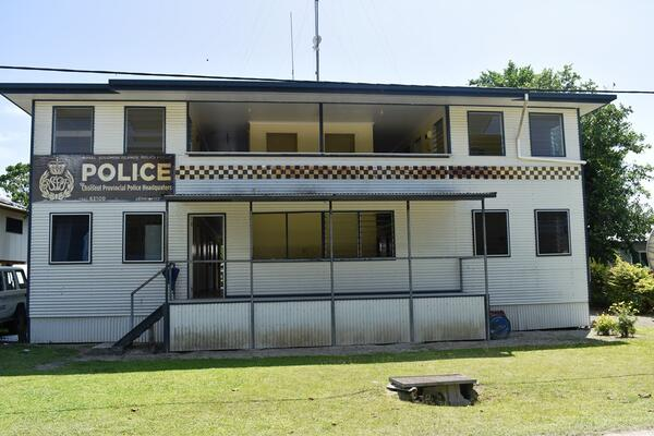 Taro police station in Choiseul province.