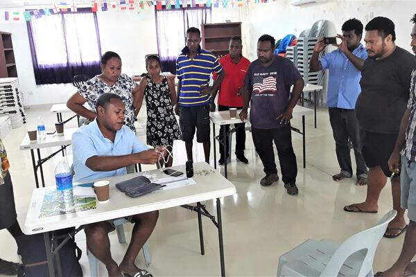 Evan was pleased to share his knowledge and skills to local journalists during a recent training organized by the Pacific Assistance Media Scheme (PACMAS).