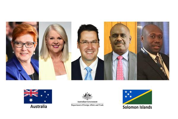"""""""Australia and Solomon Islands have a strong and steadfast friendship, built on shared values and regional interests and enduring community links."""""""
