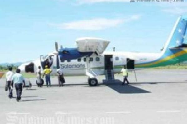 The Dash8 together with the Twin Otters will service the growing demands of Domestic travels.