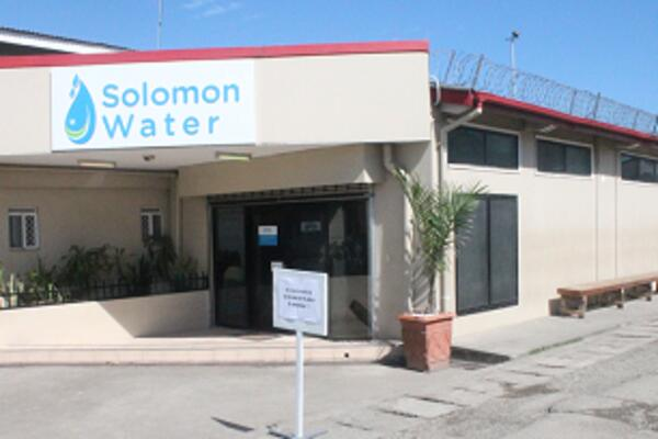 Solomon Water says that it has been working on building a treatment plant at Kongulai for over a year now, well before the logging operations caused significant disruption to supply.