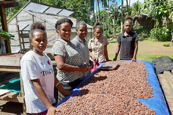 It targeted those involved in the export supply chain of Cocoa and Copra to ensure consistent supply of quantity and quality production is achieved.