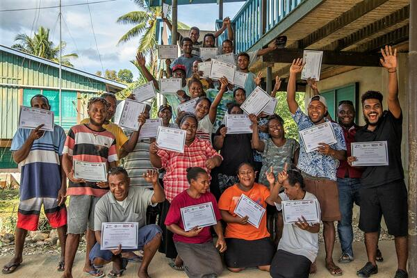 Malaita Communities Certified in Emergency Response