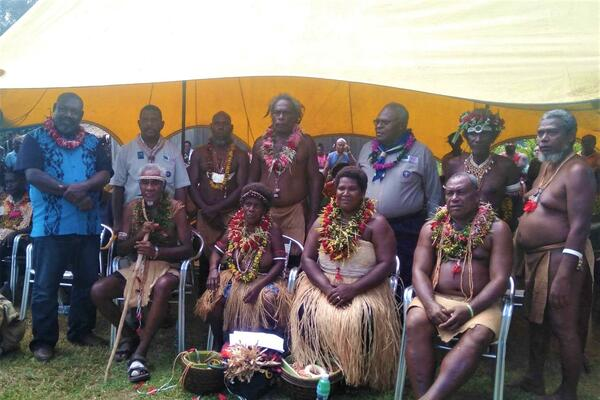 The inauguration of the Tandai house of chiefs was held at Tamboko village, North West Guadalcanal over the weekend.
