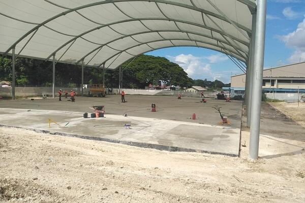 The Multipurpose Hall Upgrade project is in partnership between the Honiara City Council and the New Zealand Aid Programme.