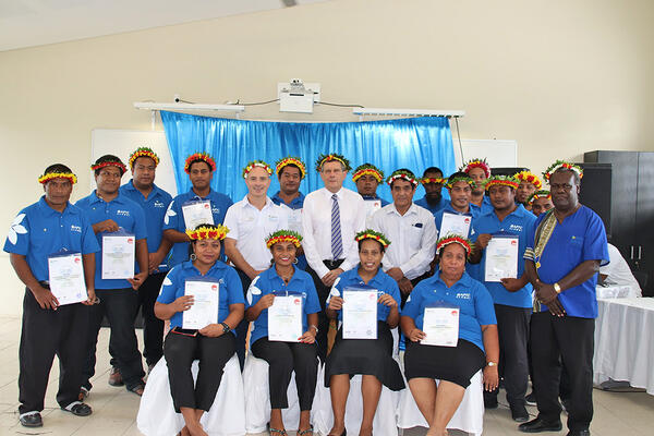 As Australia's flagship technical and vocational education and training (TVET) program, APTC has trained over 13,000 Pacific women and men, including more than 480 Kiribati citizens, since its commencement in 2007.