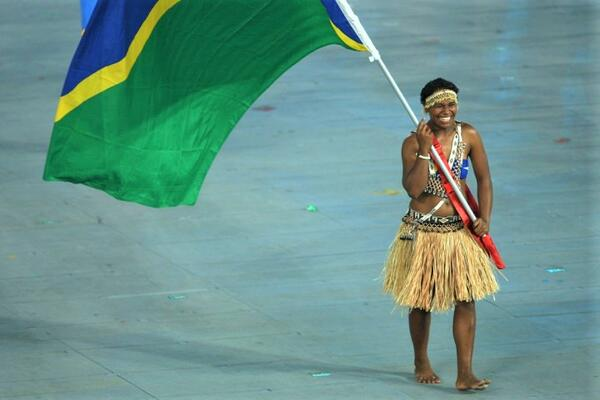 Wendy Hale, one of the best-performing athlete from the Solomon Islands.