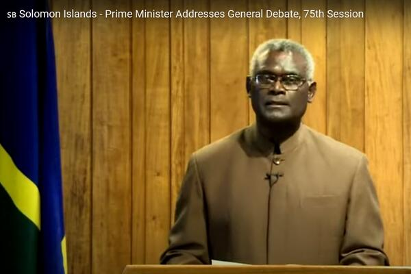 Sogavare says whilst dealing with a pandemic of global proportions, Solomon Islands continues to battle with the incremental effects of climate change and the negative impacts it has on the livelihood, security and well being of its people.