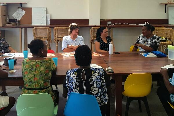 For this pilot programme, nine young entrepreneurs are paired with experienced mentors who are also members of the Solomon Islands Chamber of Commerce and Industry (SICCI).