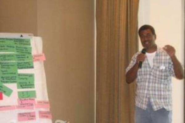 Solomon Islanders from the Government, NGOs and UNDP were also part of the Peace Building workshop.