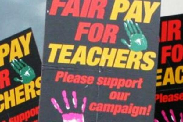 Teachers in the country are uniting ahead of the proposed strike.