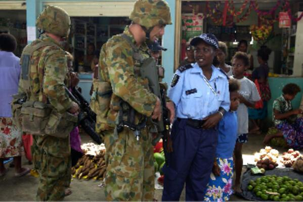 Launched in July 2003, the RAMSI mission involved more than 2000 troops and police from Australia, New Zealand, PNG, Fiji and Tonga.