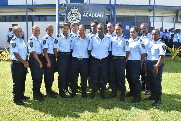 The Royal Solomon Islands Police (RSIPF) have a total of 69 new recruits, 13 of whom are female from Honiara and throughout the provinces.