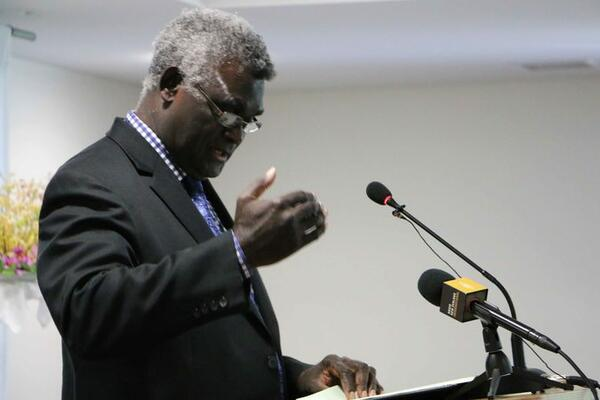 Sogavare Skips UN General Assembly