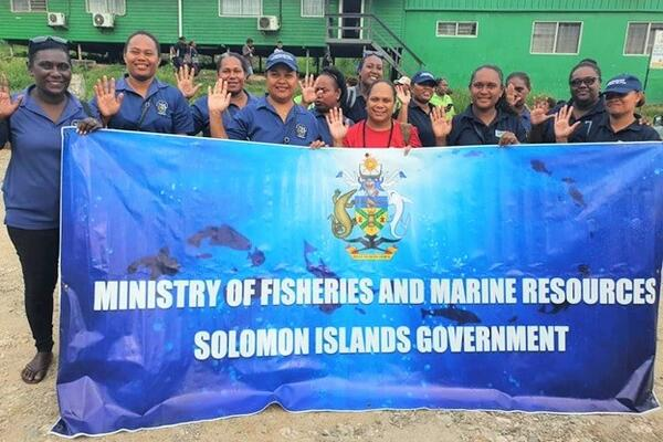 """We are proud to contribute as women in the fisheries sector which is an important source of income and food security for many women in the country,"" Masu said."
