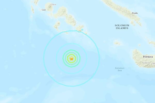 5.7 Magnitude Quake Recorded Near Kavachi