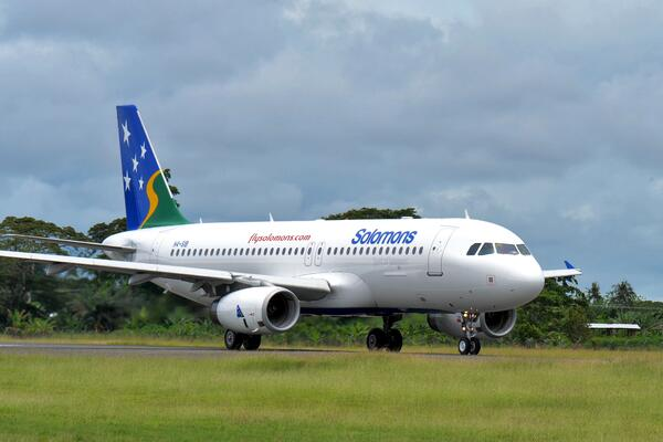 National Carrier Brings Solomon Islanders Home