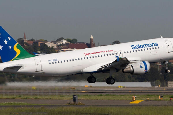 """With the support of our government to continue special flights under strict COVID-19 safety procedures, the steady income from our international operations has enabled us to keep flying and support continuity of our domestic network operation,"" said Colin Sigimanu, Manager Commercial for Solomon Airlines."
