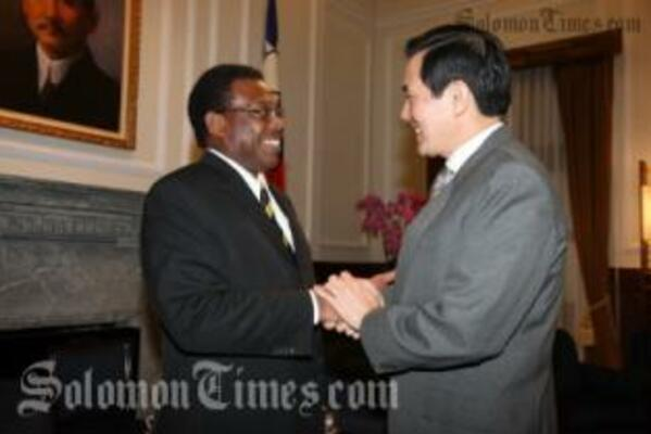 In Taiwan, Dr Sikua met President Ma to discuss a number of bilateral issues.