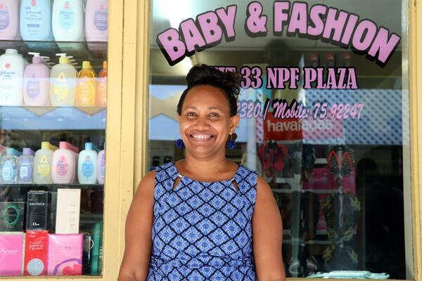 At 36, Florence, a mother of two, is an experienced entrepreneur who manages a successful retail business, in a country where older men dominate the business landscape, she is an anomaly.
