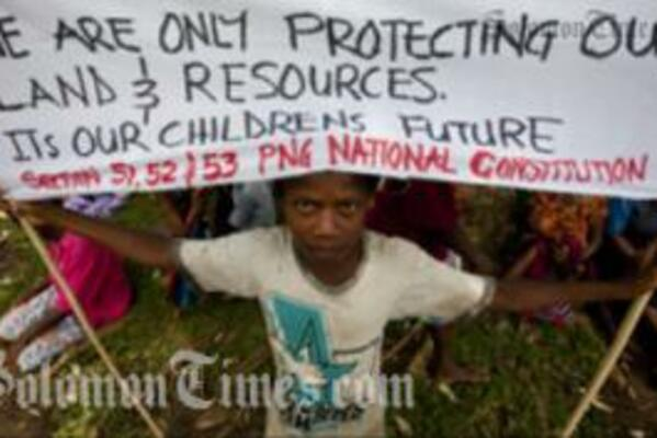 Fight for PNG's Stolen Forests Only Just Begun