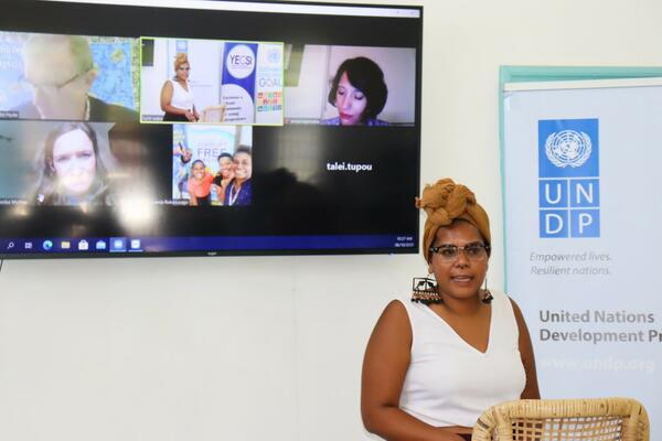 """""""My integrity is not for sale at any price. [In the face of corruption], I value the moral high ground and zero dollars in the bank - we always have a choice!"""" said Chair of the Youth Entrepreneurs Council Solomon Islands (YECSI), Ms. Millicent Barty, as she reflects on her own experiences."""
