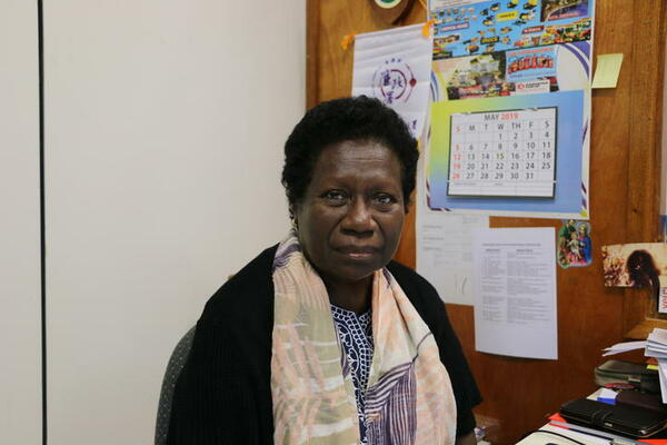 Chief Executive Officer (CEO) of TSI, Mrs. Ruth Liloqula.