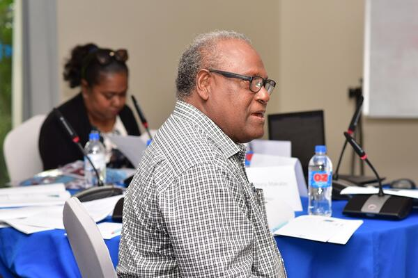 Director BSP Finance and former NPF General Manager, Tony Makabo.