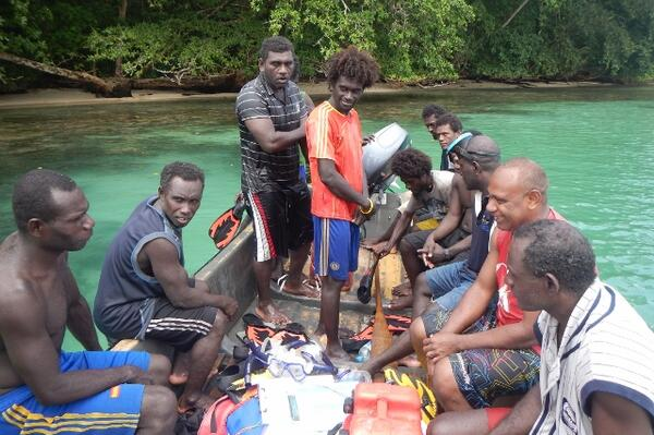 The training was for community monitors to carry out simple Biological Monitoring Surveys at the community level in accordance with Solomon Islands Locally Managed Marine Areas Network protocols.