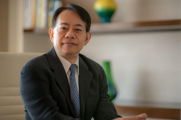Masatsugu Asakawa, the 10th President of the Asian Development Bank.