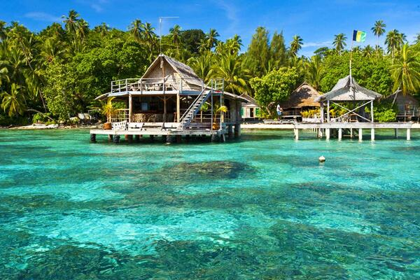 """""""The reality here is that for the first time the Solomon Islands government is serious about tourism and has committed major resources into the sector,"""" said Mr Tuamoto."""