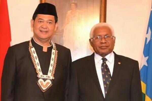 Ambassador of the Republic of Indonesia Presents Credentials