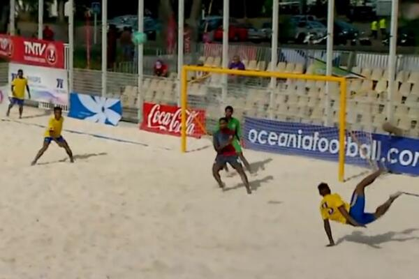 Solomon Islands Defeats New Caledonia in Beach Soccer Opener