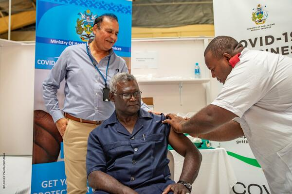 """""""I also remind the public that it is an offence under the SOPE Regulations to abuse or threaten any authorized officer that is doing his or her job to protect the citizens of this country from COVID-19,"""" Sogavare said."""