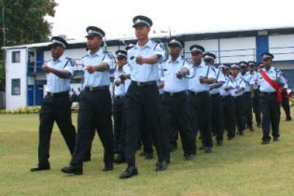 RSIPF Welcome 27 Graduate Police Officers