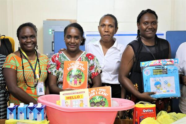 The Camp Management Committee says that it welcomes this initiative as it will ensure children affected by quarantine are able to benefit from learning materials.