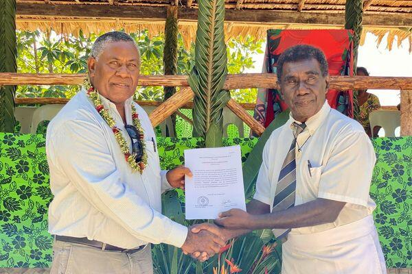 """""""Land recording plays a pivotal role in empowering people and building sustainable peace in Solomon Islands' communities. We are bridging gaps between customary land groups and laying strong foundations for harmonious relations and social cohesion."""""""