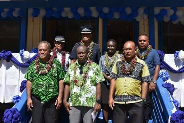 New Police Post Open in Isabel Province